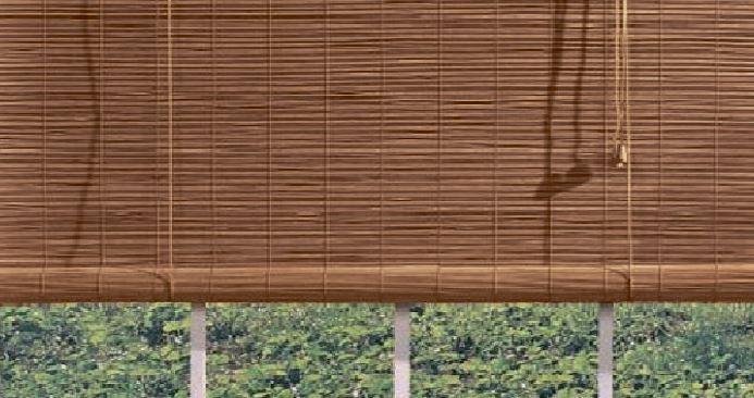 бамбуковые шторы уют